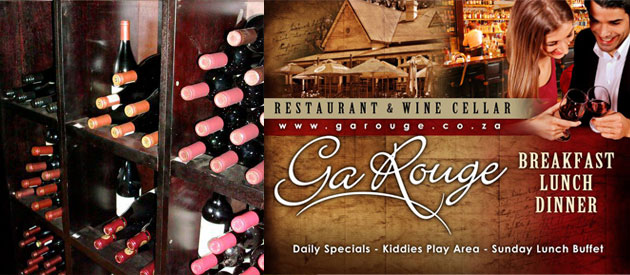 Ga Rouge Restaurant & Wine Cellar