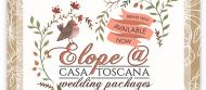 Elope Wedding Package at Casa Toscana