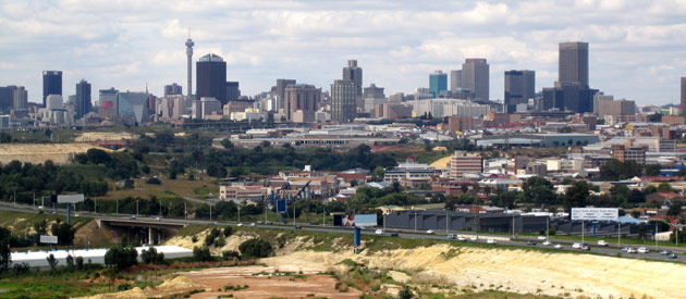 Johannesburg, in Gauteng, South Africa